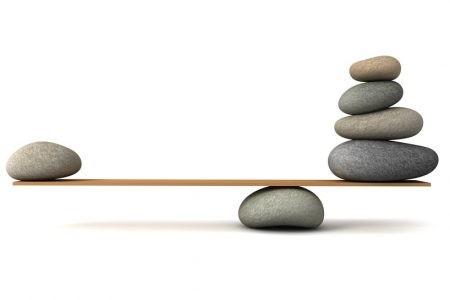 Im Gleichgewicht bleiben